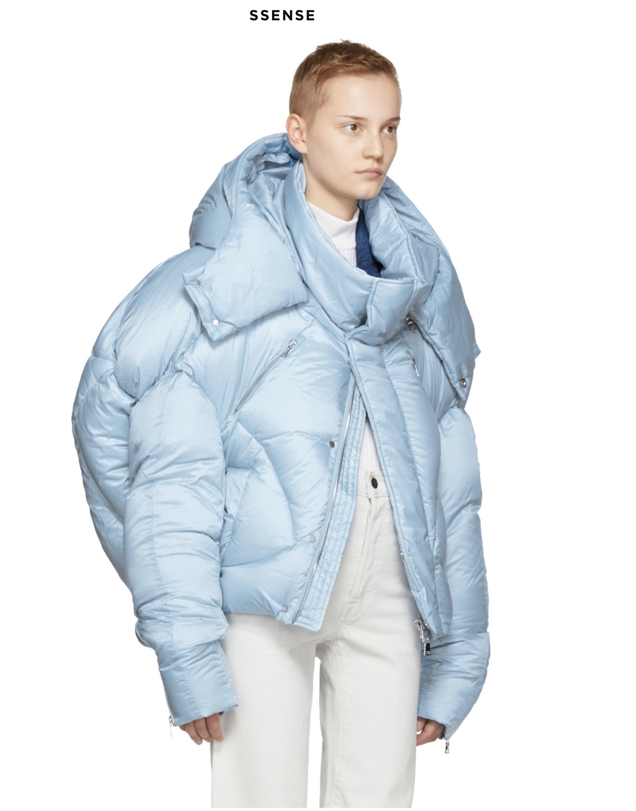 CHENPENG 17AW Baby Blue Puffer Jacket 25ac36b55