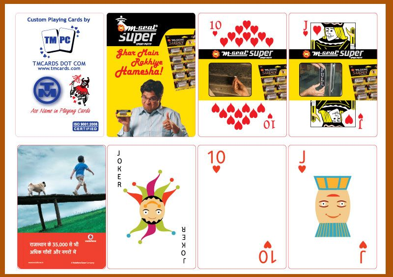 Tmcards Dot Com Made Business Playing Cards For Big Brands In