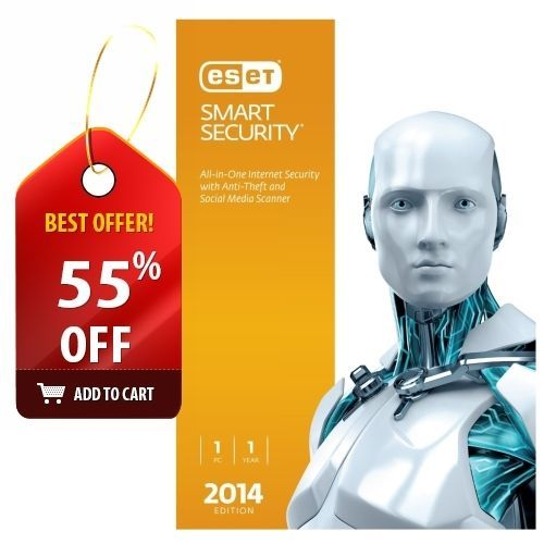 Eset Smart Security 2014 1 Pc 1 Year New Sealed