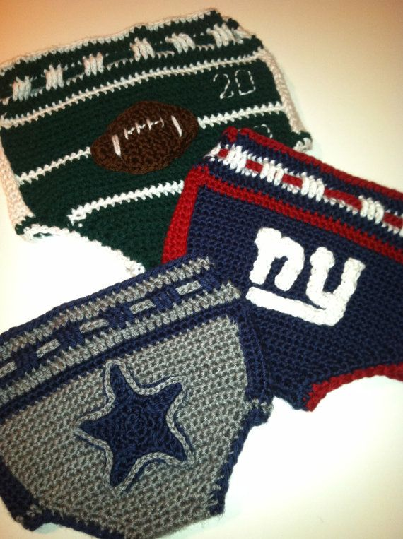 NFL Diaper Cover Soaker Crochet Pattern PDF by ThePatternParadise ...