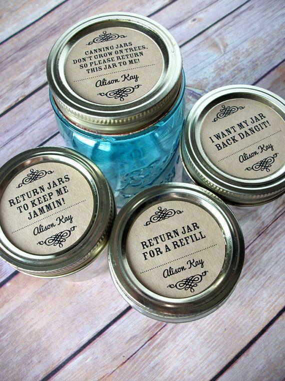 Return jar custom kraft paper canning jar labels personalized stickers for mason jars fruit and vegetable preservation jam jar labels canningcrafts com