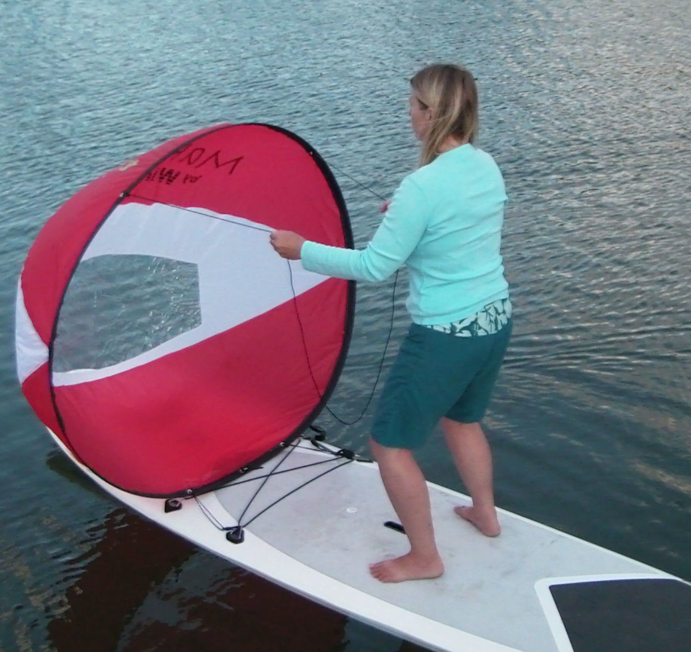 Voile Pour Stand Up Paddle Wind Paddle Makani Stand Up Paddle Canoe Bateau