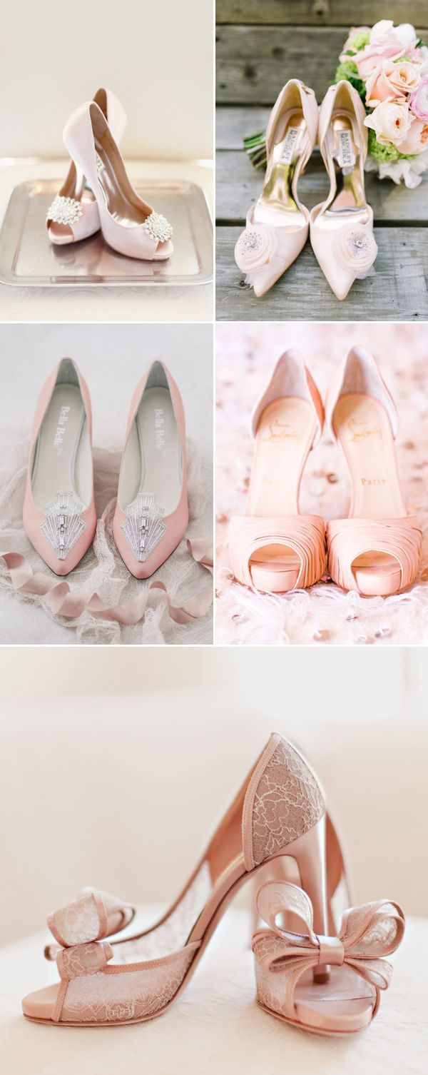 12 Dreamy Pastel Pink Wedding Shoes For Romantic Brides Pink Wedding Shoes Pink Bridal Shoes Bride Shoes