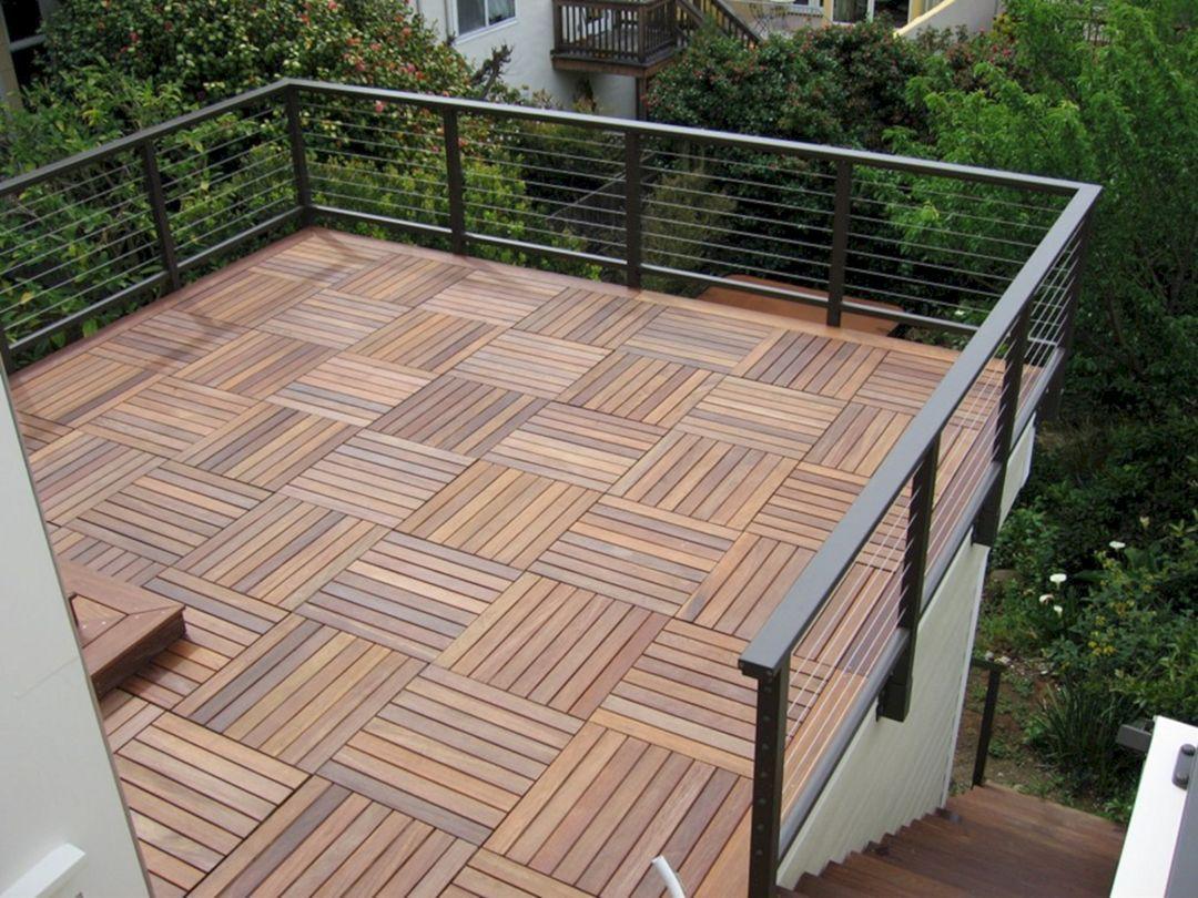65 Incredible Wood Ipe Deck Ideas For Your Outdoor Tile Rooftop Patio Deck Flooring Rooftop Design