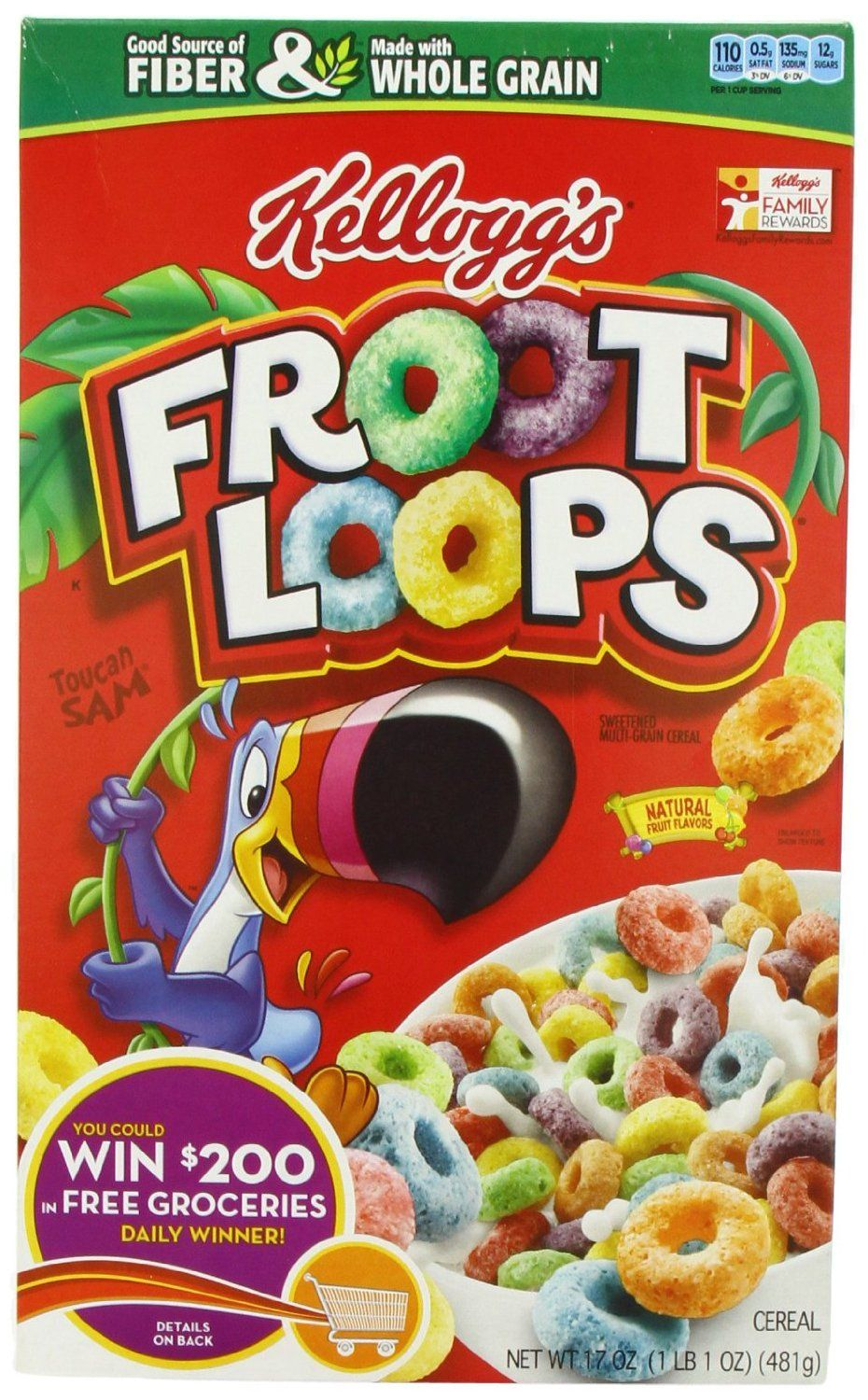 Get Froot Loops For 1 At Dollar General Fruit Loops Cereal