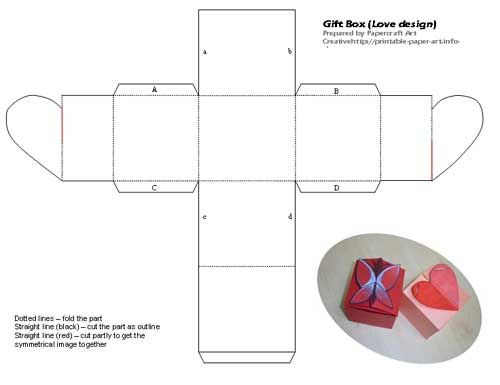 small box printable 2011 calendar indesign printable form template – Paper Gift Boxes Templates