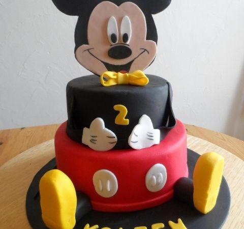 gateau anniversaire mickey bruxelles