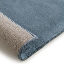 Photo of benuta Premium Viskoseteppich Puro Blau 200×300 cm – Moderner Teppich für Wohnzimmerbenuta.de