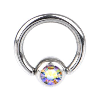 14 Gauge 5 16 Aurora Captive Ring