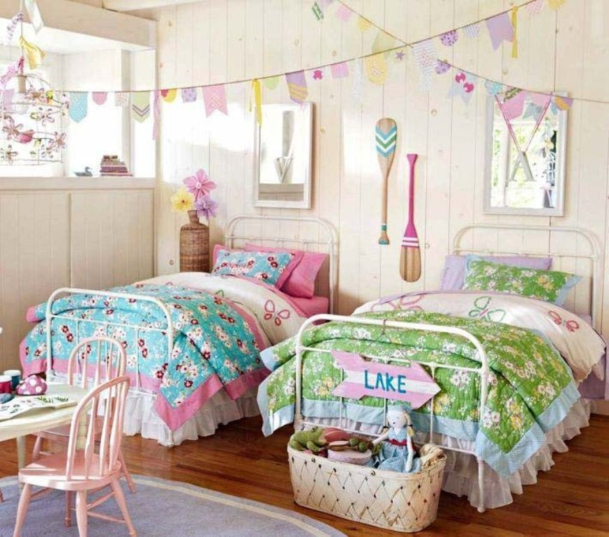 Bedroom Perfect Bedroom For Twin Girls Cottage Lakeside