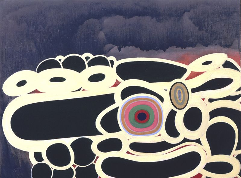 Thomas Nozkowski  Untitled (8-88), 2007   Oil on linen on panel, 76.2 x 101.6 cm