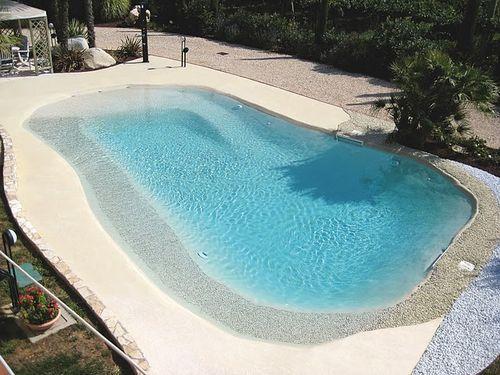 Imaginate tener su propia playa con dunas de arenas y for Construccion de piscinas