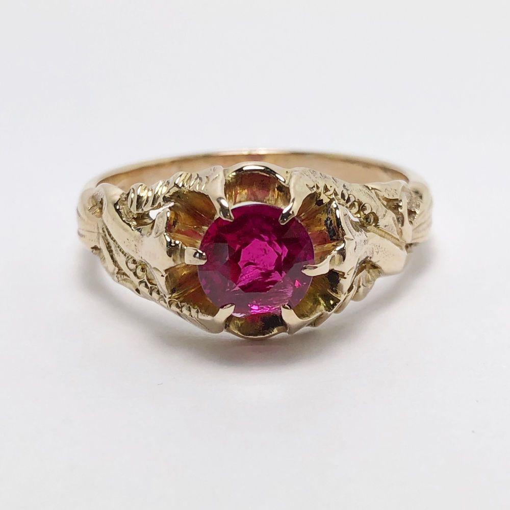 Exquisite victorian k gold art nouveau ring d victorian