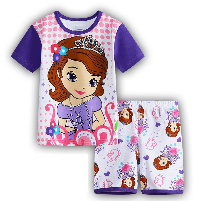 2d6e903d577 KIDS GIRLS BOYS MICKEY MINNIE MOUSE PYJAMAS 2PCS PJS T-Shirt Shorts Set  6M-8Y UK MICKEY MINNIE MOUSE