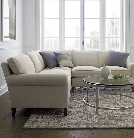 Well Balanced And Beautifully Tailored The Montclair Sectional Sofa Is A Model Of Classic Proportions Trim Ro 2 Piece Sectional Sofa Sectional Sofa Sectional