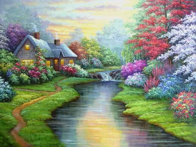 Landscape Art Landscape Clip Art Abstract Paintings