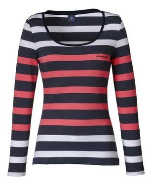 Bogner Jeans Blockstreifenshirt (blau) - Shirts & Blusen - Bekleidung - SALE % - Damenmode Online Shop - Frankonia.de
