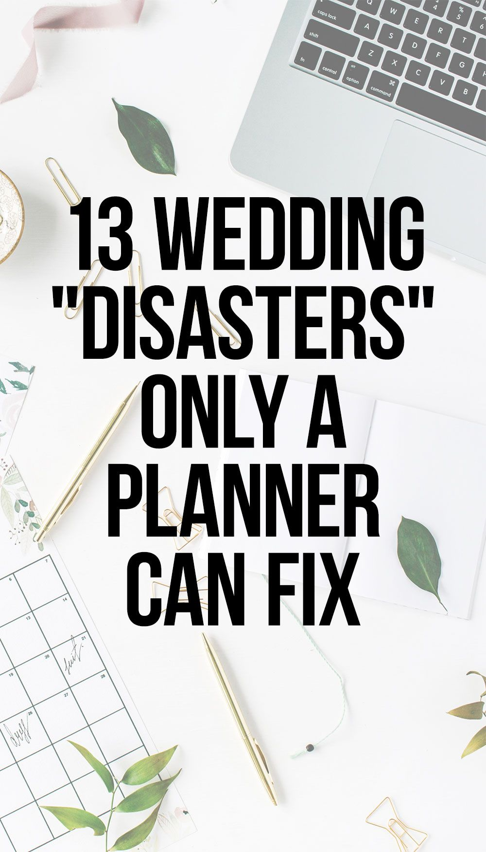 Get the inside scoop on what can go wrong at your wedding