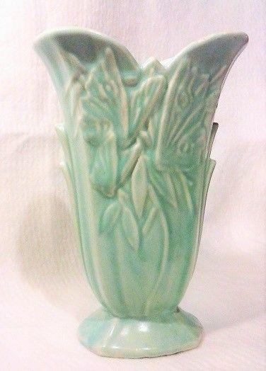 Nelson McCoy USA Butterfly Vase