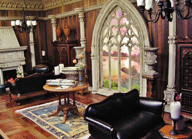 Fantasy Castle Room Box for J. Bush | Castle rooms ...
