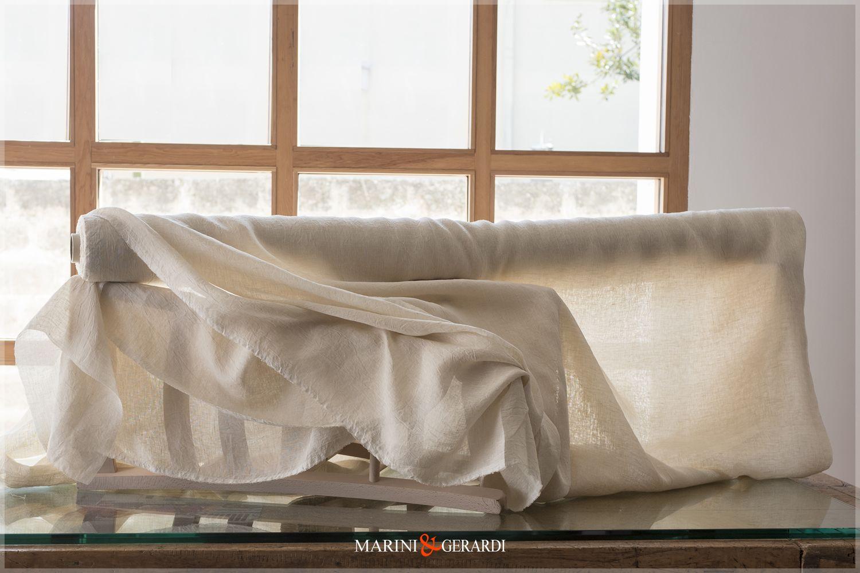 Vendita Tessuti Per Tende.Tessuti Per Tende In Lino Stropicciato Vendita Al Taglio