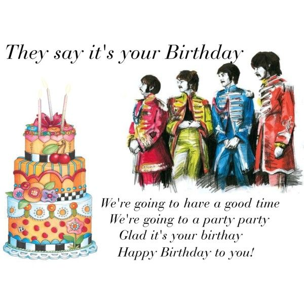 The Beatles Sing Happy Birthday To You