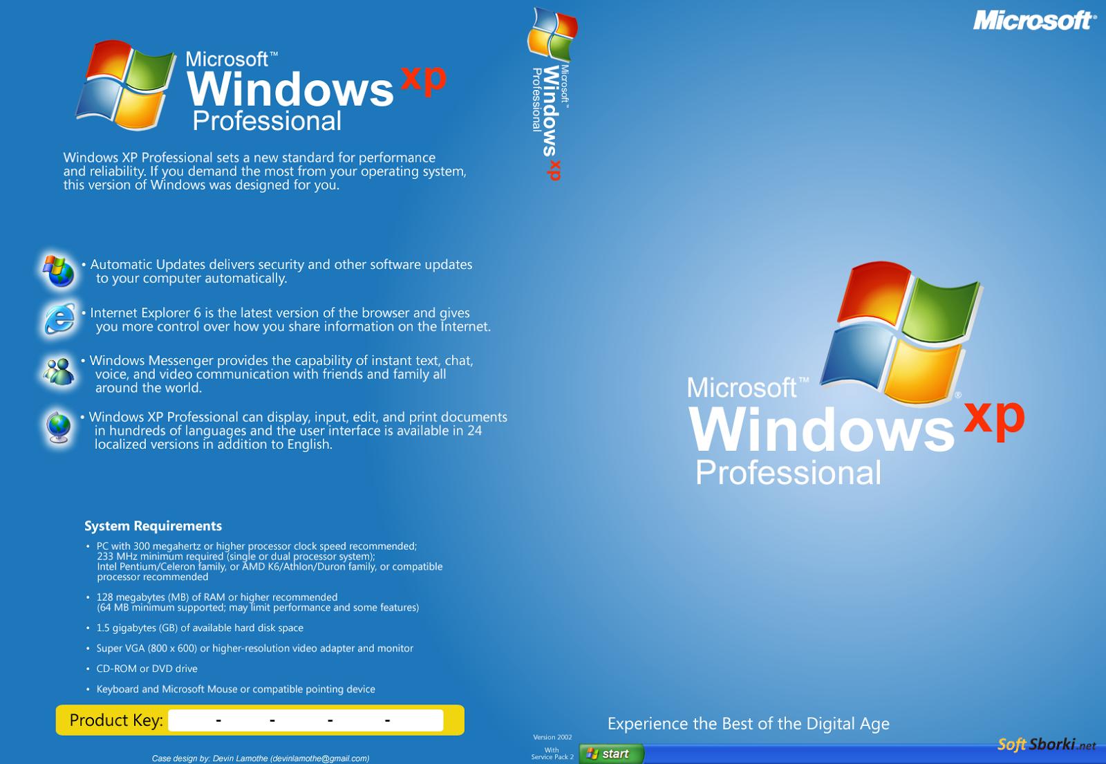 windows xp 64 sp3 скачать торрент
