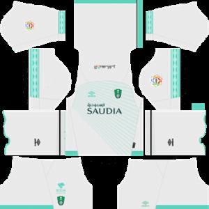 Al-Ahli Saudi FC Kit 2019 – Dream League Soccer Kits & Logo