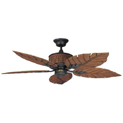 Rustic Outdoor Ceiling Fan