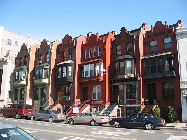 row houses in Washington Heights | Washington heights, Nyc history, City  architecture