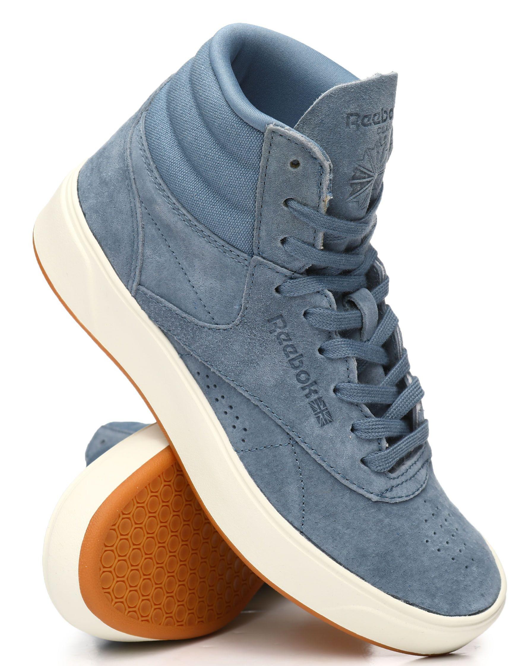 Freestyle Hi Nova Sneakers Women s Footwear from Reebok at DrJays ... c482209f9