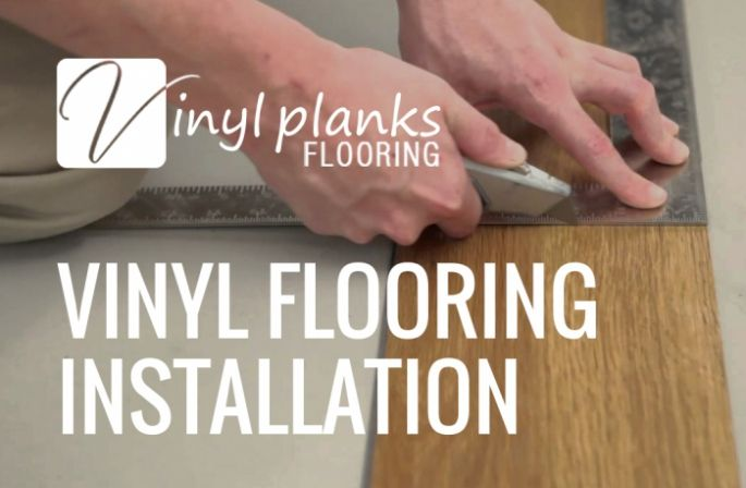 4 Simple Steps For Installing Self Adhesive Vinyl Floor Vinyl Flooring Adhesive Vinyl Vinyl Flooring Installation