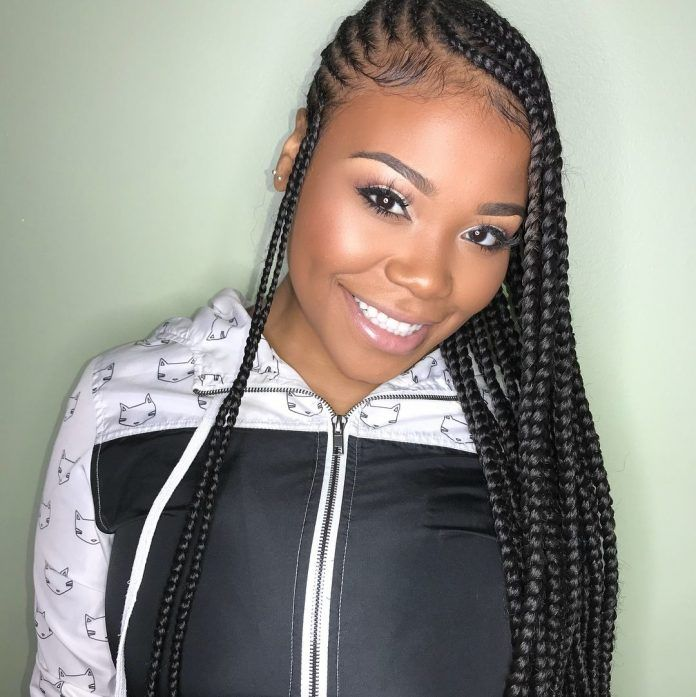 87 Cornrow Hairstyles For Black Women Ideas In 2019 Street Style Inspiration Cornrow Hairstyles Hair Styles Braided Hairstyles For Black Women