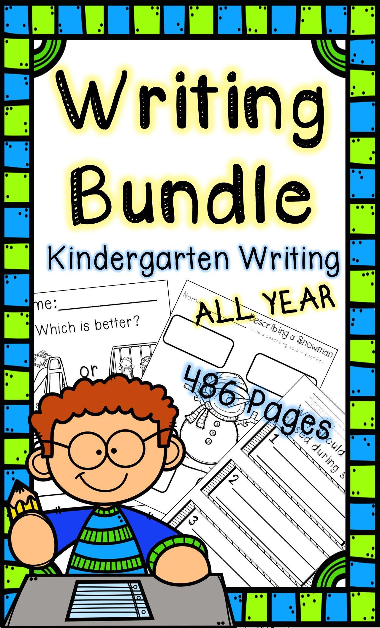 Kindergarten Writing Activities Bundle