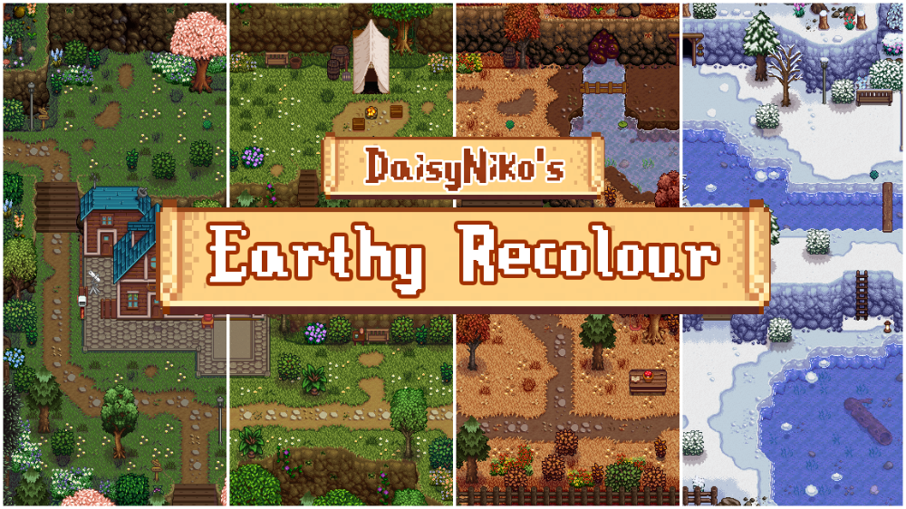 Daisyniko S Earthy Recolour At Stardew Valley Nexus Mods And Community In 2021 Recolor Earthy Stardew Valley