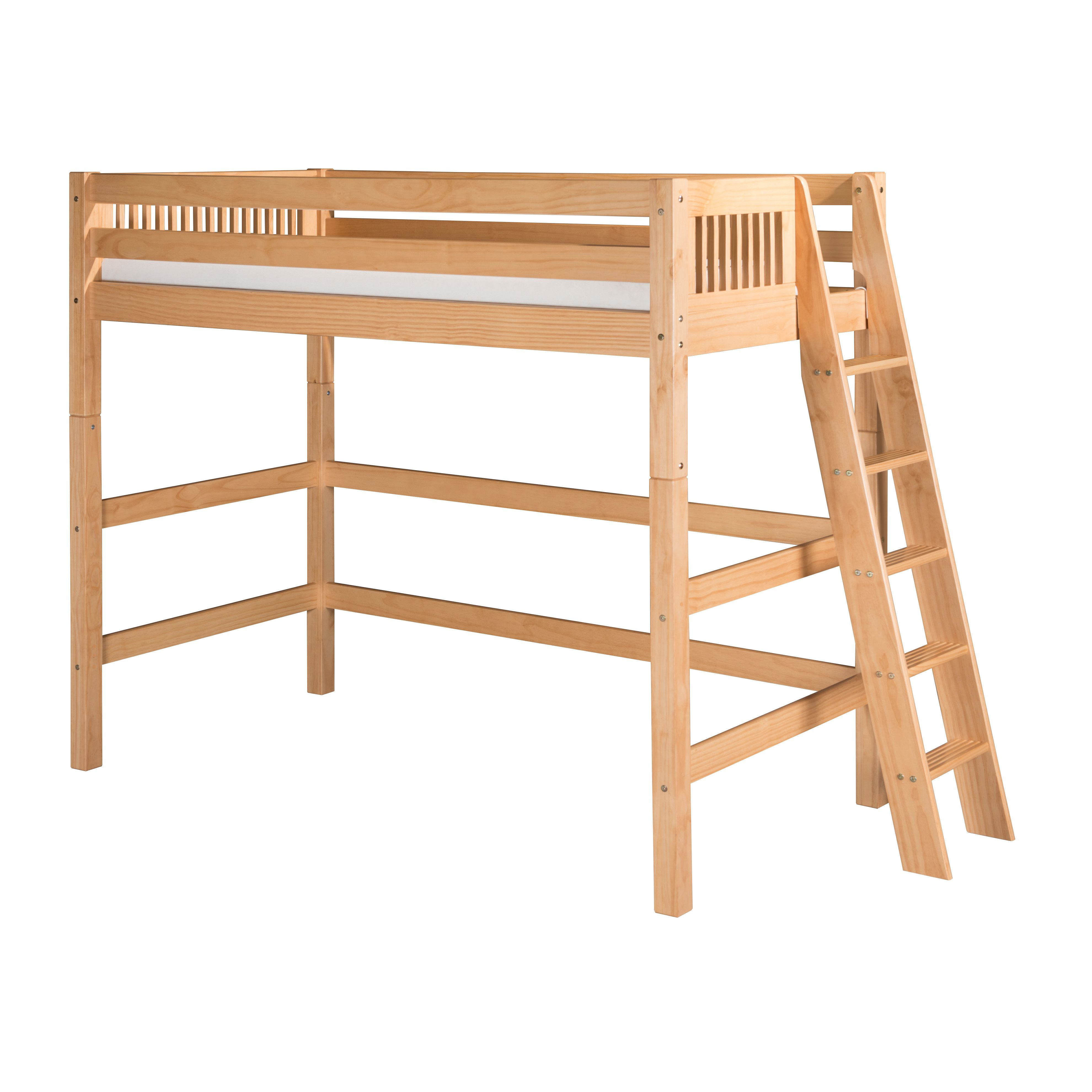 Loft bed ladder ideas  Youull love the Loft Bed at Wayfair  Great Deals on all Furniture