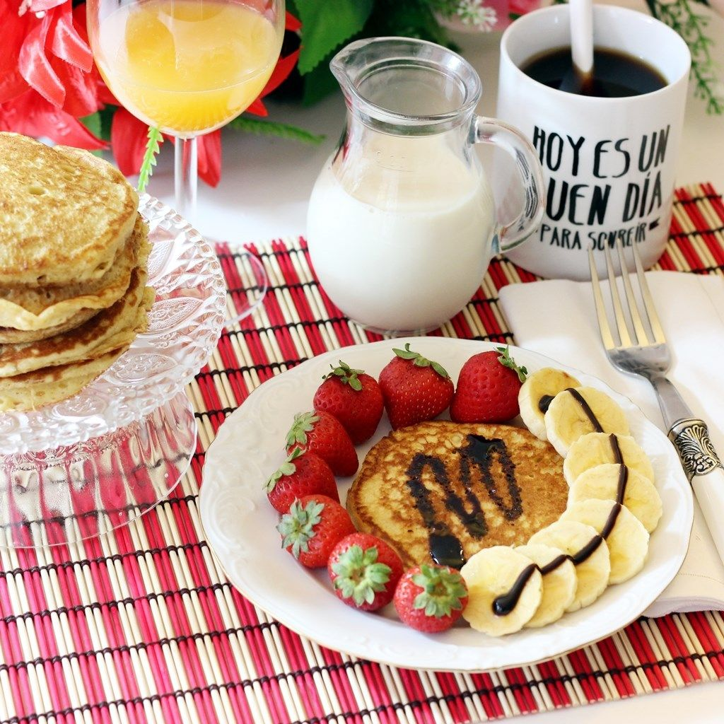 Desayunos Comida Saludable Pinterest Desayuno Desayuno  ~ Recetas Para Cena Romantica En Casa