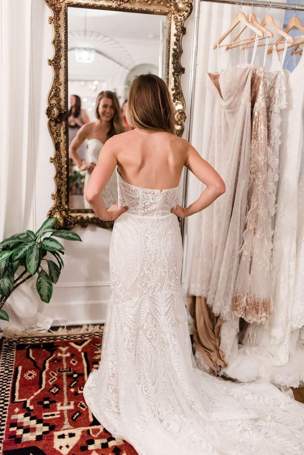 This Wedding Dress Try On Party Is Changing How Both Brides And