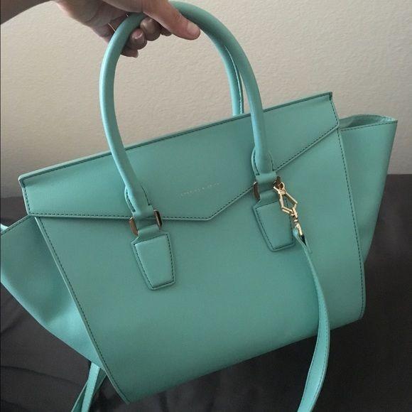 Charles   Keith - celine inspired bag A beautiful turquiouse bag inspired  by Celine phantom luggage c79289b14b253