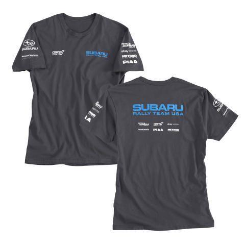 Subaru Rally Racing Tee Shirt Impreza Sti T shirt Official Genuine WRX NEW USA