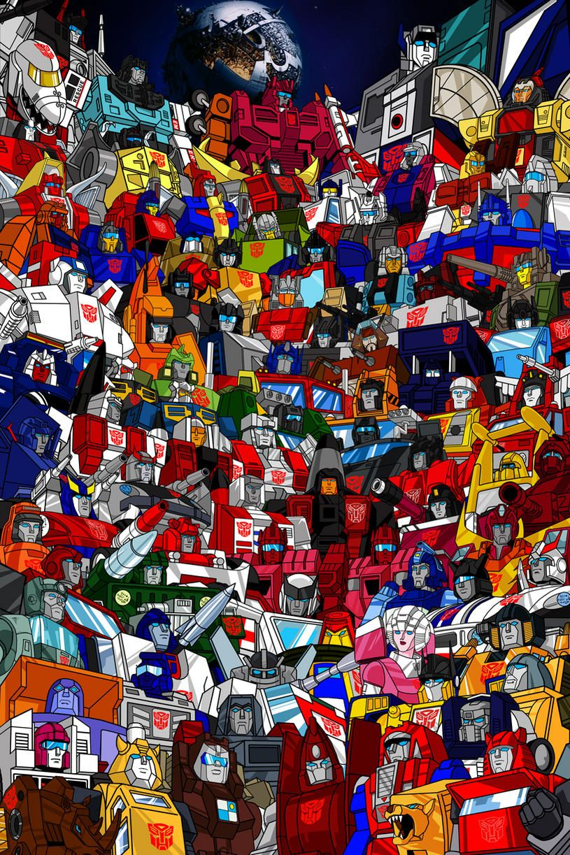 Transformers G1 Roster Poster Just about every Autobot from the