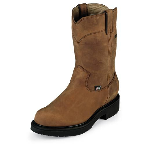 Justin Boots - Men's 10 - Pull-On