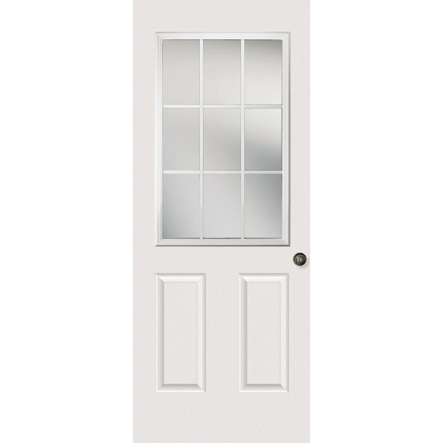 Odl Clear Low E Door Glass 9 Light External Grille 22 X 38