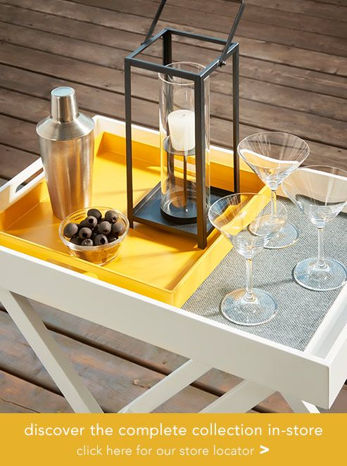 Boucler - Bellini Foldable Tray Table with detachable + serving tray ...