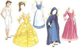 Bonecas De Papel Para Vestir Princesas E Principes Disney Bonecos De Papel Bonecas De Papel Vintage Bonecas