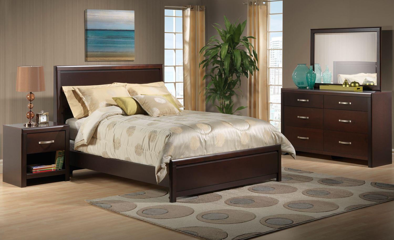 Leon Bedroom Furniture Merrick Bedroom 5 Pc Queen Bedroom Set Leons Future Home