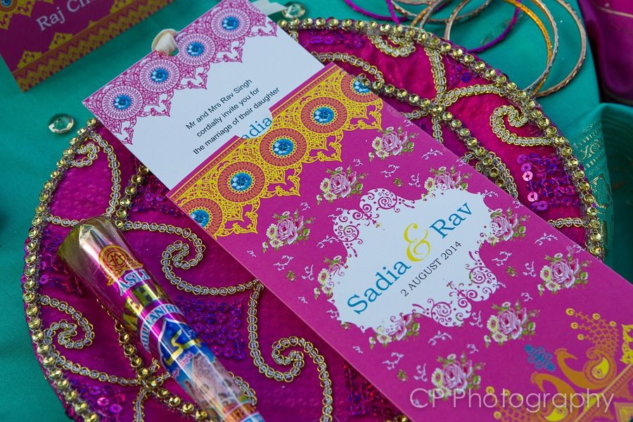 Mehndi Party Invites : Vintage jewels of jaipur wedding invitation. a stunning mix asian