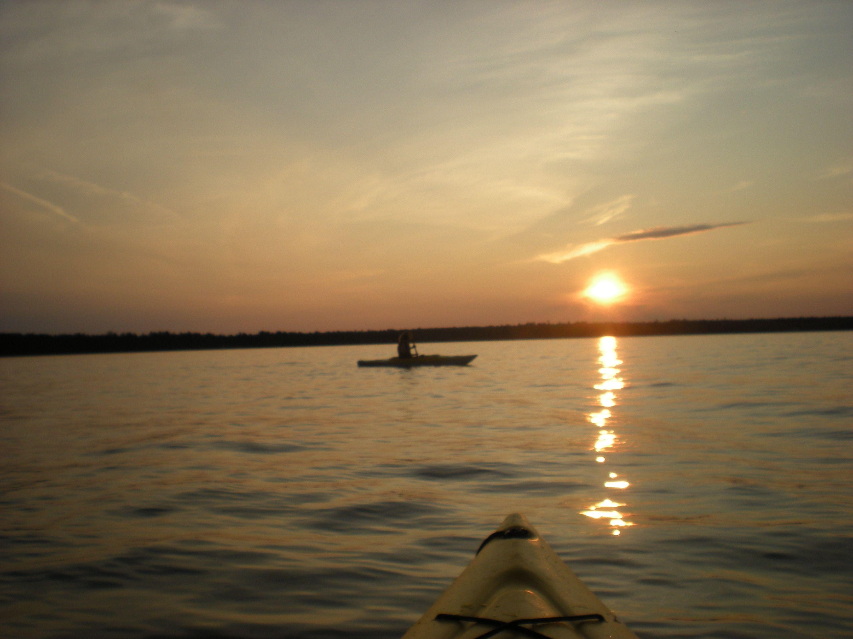 kayaking on Lake Superior, MI.
