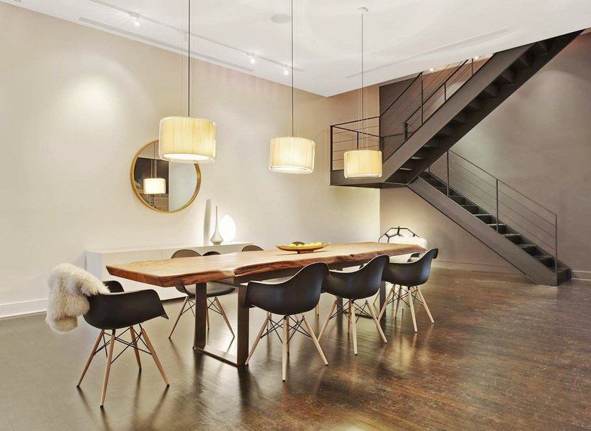 dining room eames chairs Dining Rooms Pinterest Eames chairs