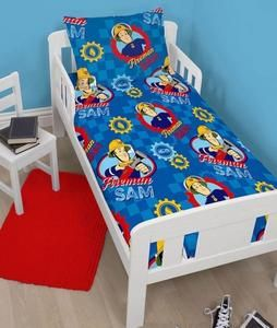 Kids Character Bedding: Fireman Sam Toddler Bed Bundle ...